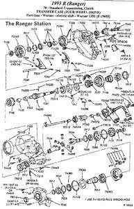 Exploded View Ford Explorer Transmission