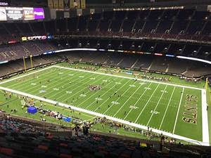 Mercedes Benz Superdome Section 626 Row 26 Seat 10