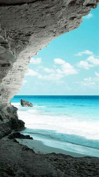 Beach Ocean Screensavers Wallpapers Iphone Phone Nature