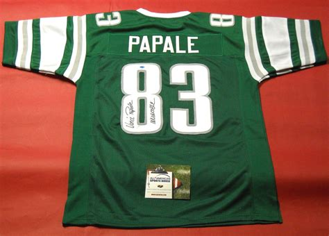 Vince Papale Autographed Philadelphia Eagles Throwback