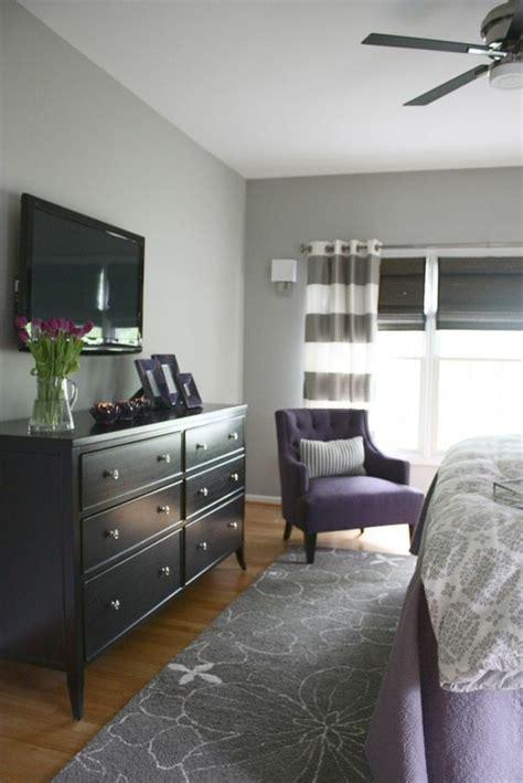 chambre couleur bleu et gris 1001 idées pour la décoration d 39 une chambre gris et violet