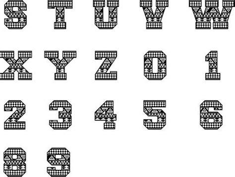 aztec font svg aztec monogram aztec letters tribal font etsy   tribal letters