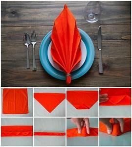 Pliage De Serviette En Papier Facile : d couvrez comment le pliage serviette facile permet de ~ Melissatoandfro.com Idées de Décoration