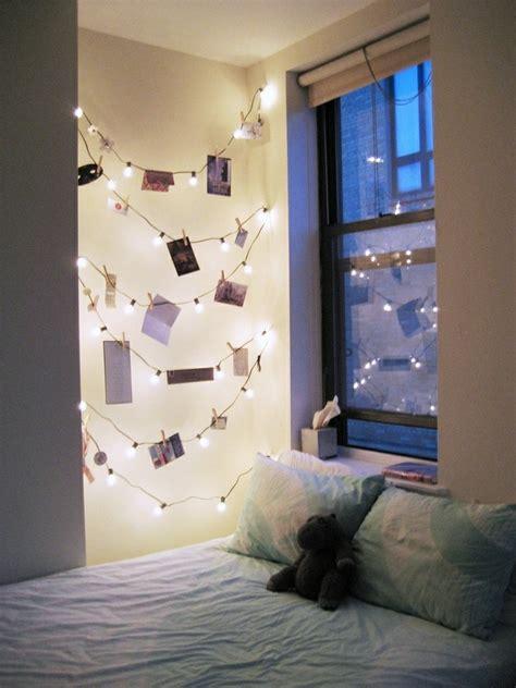 guirlande lumineuse d馗o chambre beaucoup d 39 idées déco avec la guirlande lumineuse boule