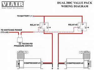 Viair Dual 380c Chrome Air Compressor Kit