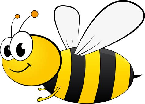 cartoon bee  atgdj cartoon bee  pixabay