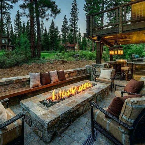 patio  fire pit bench ideas backyard fire pits custom