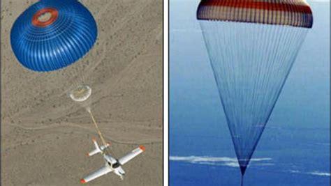 Parachutes To Rescue Planes - CBS News