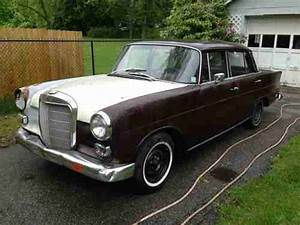 Sell Used 1967 Mercedes Benz 200d Heckflosse Fintail