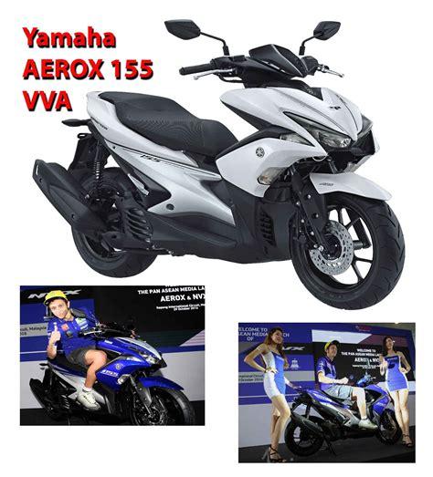 Review Yamaha Aerox 155vva by Review Produk Baru Yamaha Aerox 155 Review Produk Di