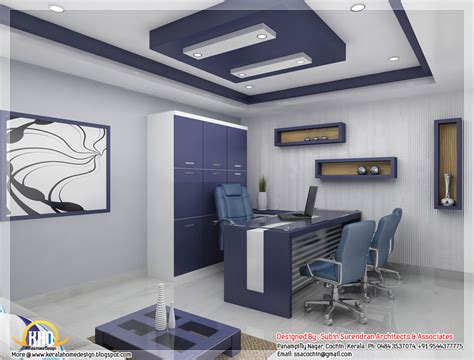 beautiful  interior office designs kerala house design