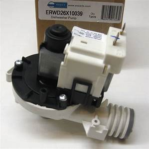 Wd26x10039 For Ge Dishwasher Drain Pump Motor Also For Ap4412545 Ps2353893