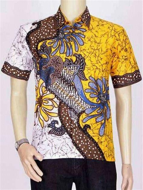 jual masuk toko pakaian batik pria baju batik modern kemeja batik jk1607p di lapak setia store