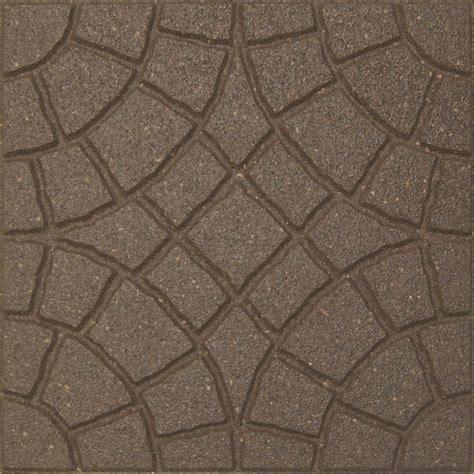 envirotile bella rocca 18 in x 18 in earth paver 70