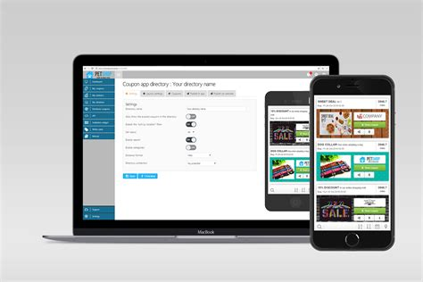 mobile promotions distribute mobile coupons with apps