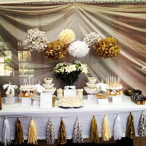 Polkadot parties 50th wedding anniversary entertaining for 50 wedding anniversary colors
