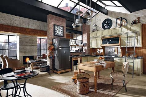 chambre style usine déco loft garage