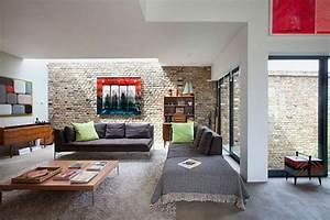 Coole Zimmer Deko : 1001 ideen f r steinwand wohnzimmer zum inspirieren ~ Sanjose-hotels-ca.com Haus und Dekorationen