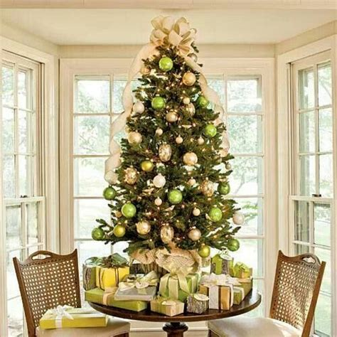 tabletop tree southern living christmas pinterest