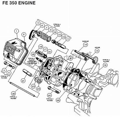 Engine 350 Fe Carryall Club Parts Plus