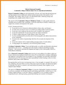 mission statement exles for resume mission statement exles resume exles