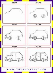 How To Draw Easy Cars Step By Step