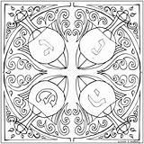 Coloring Hanukkah Printable Bonus Koffsky Dreidels sketch template