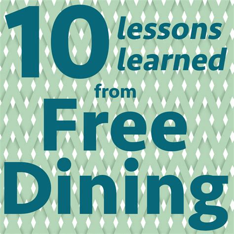 lessons learned dining prep wdw prep school