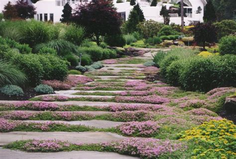 landscape pathways the natural garden pathway hickory hollow landscapers