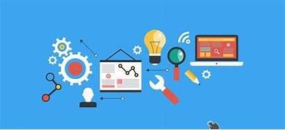 Marketing Virtual Social Engine Development Software Display