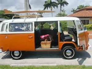 1974 Vw Bus Orange Volkswagen