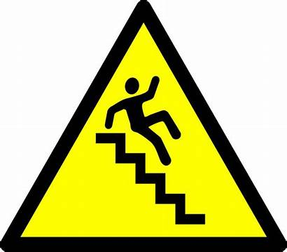 Caution Stairs Signs Safety Symbol Kb