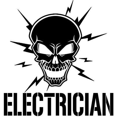 178cm*184cm Skull And Lightning Bolts Electrician Vinyl. Comfort Room Signs. Garden Stickers. Health Conference Banners. Resin Wall Murals. Puberty Signs. Frat Murals. Barbering Banners. Marvel Avengers Decals