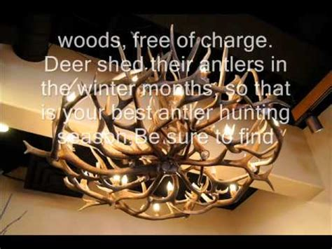 antler chandelier wmv