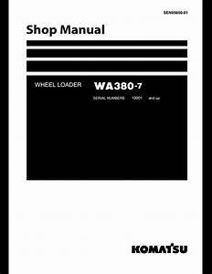 Komatsu Wheel Loaders Wa380