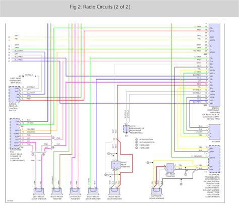 Factory Radio Wiring Diagram Detailed Purpose