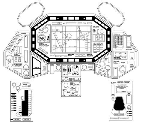 creating  small spaceship cockpit set