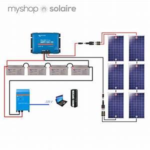 Installation Panneau Solaire : guide de montage kit solaire autonome 48v 1500w ~ Dode.kayakingforconservation.com Idées de Décoration