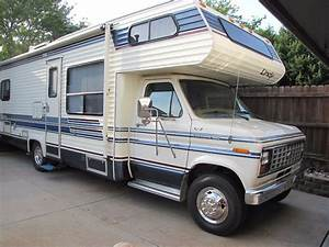 1990 Ford Econoline Skyline Lindy Class C Rv Motorhome - Great Condition