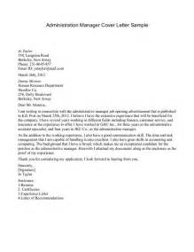 it management resume cover letter sle cover letter for refugee manager cover letter templates