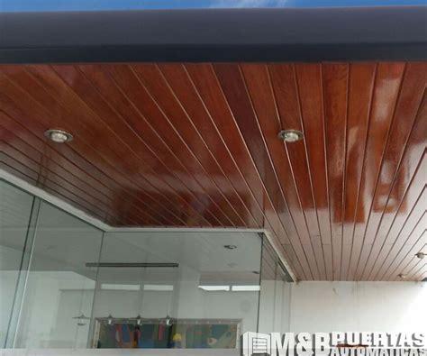 techos machihembrados de madera mb puertas automaticas