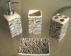 zebra kitchen accessories zebra print place setting looking for now chic 1236
