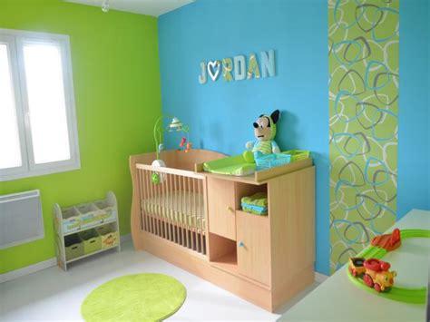 chambre garcon vert et gris davaus chambre bebe en bleu avec des idées