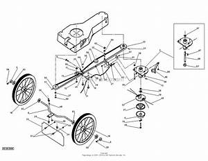 Dr Power Tr0 Pro   Lmf   Parts Diagram For Axle And Mowball