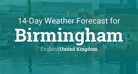 birmingham england united kingdom  day weather forecast