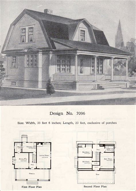 william radford house plans dutch colonial revival barn house