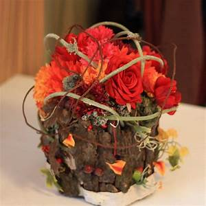 22 Colorful Fall Flower Arrangements And Autumn Table