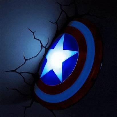 Captain America Shield Led Marvel