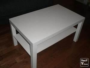 Ikea Table Basse : table basse ikea blanche presque neuve ~ Teatrodelosmanantiales.com Idées de Décoration