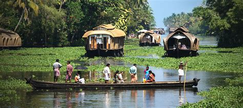 Kerala Boat House Tour by 3 Ni 4 Days Alleppey Houseboat Kumarakom Package